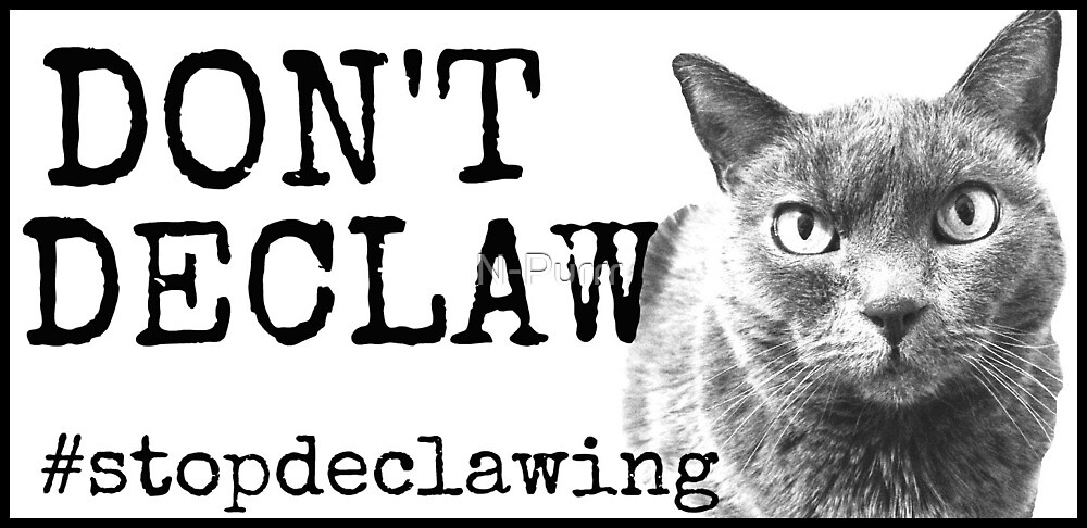 Don't Declaw by N-Purrr