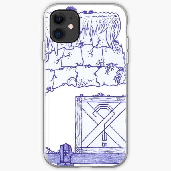 Merch #29 -- Crate Beneath The Crumbling Cliff iPhone Soft Case