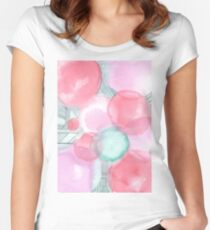 Bubbly Women's Fitted Scoop T-Shirt