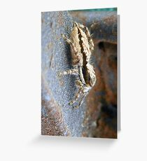 ©NS A Spider Life L You Again IIIA. Greeting Card