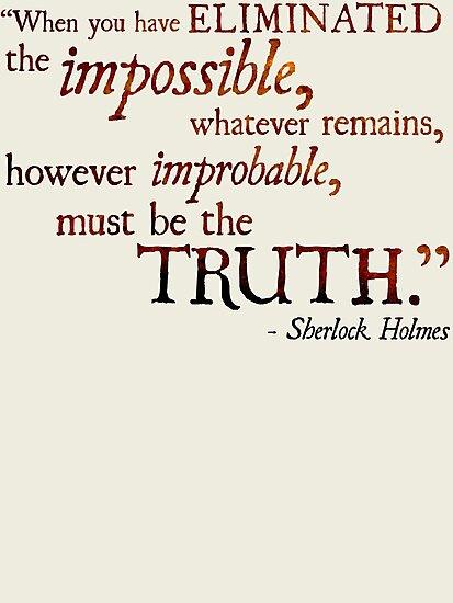 Sherlock Holmes - Eliminate the Impossible by Ashton Bancroft
