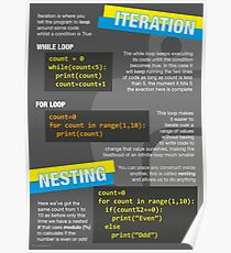 Intro to Python Poster (Computer Science GCSE) #3 Poster