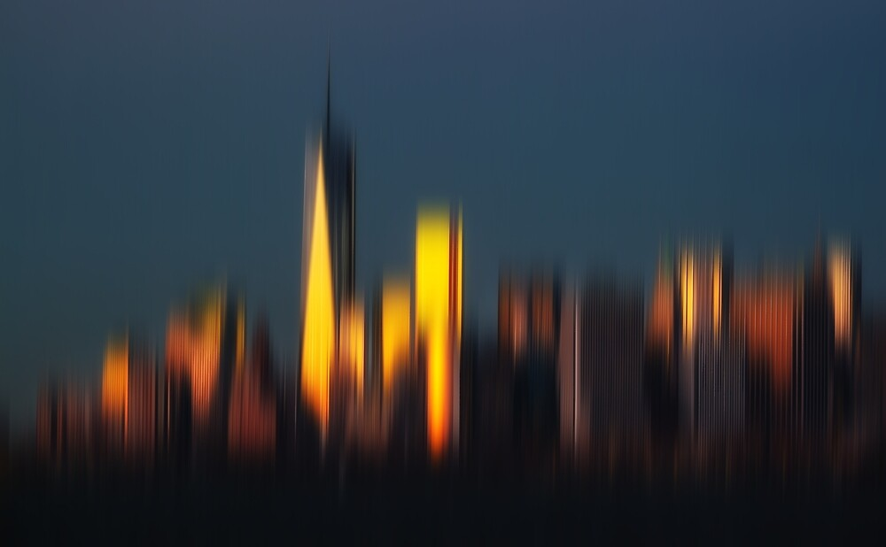 Morning in New York by Mikhail Palinchak