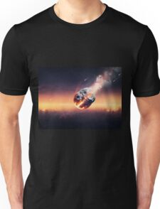 City destroyed by meteor shower Unisex T-Shirt