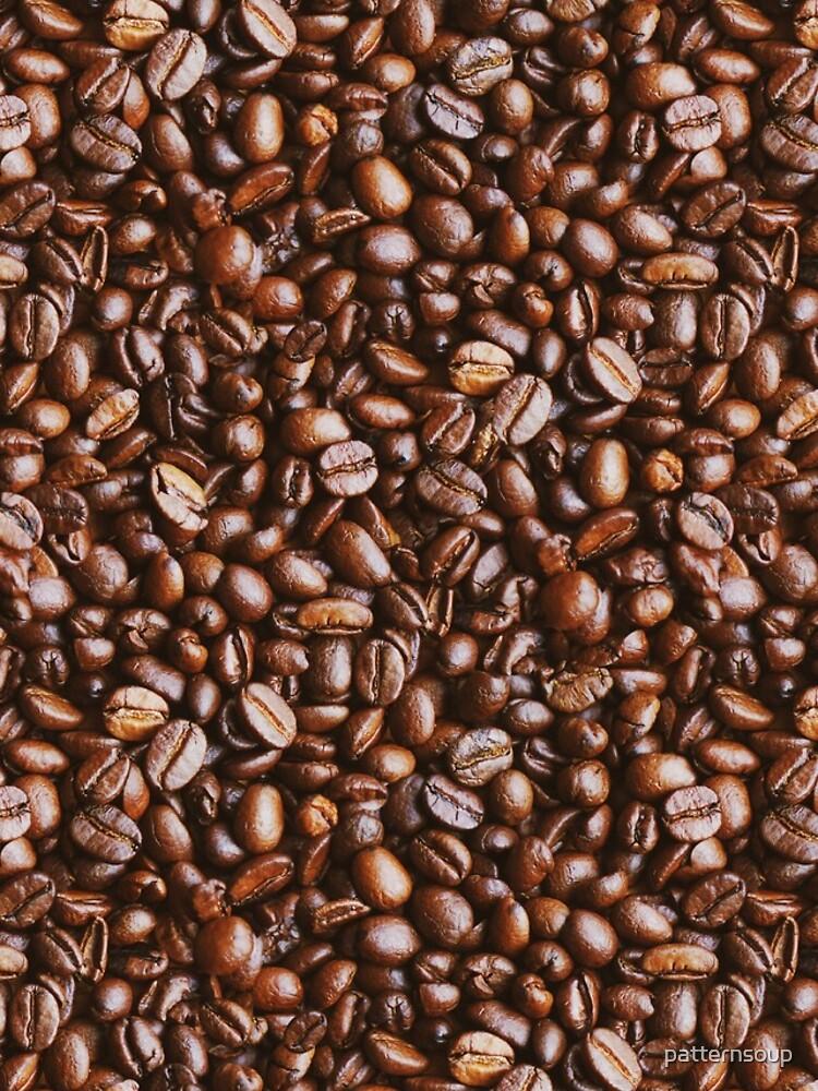 Coffee Bean Photo Pattern by patternsoup