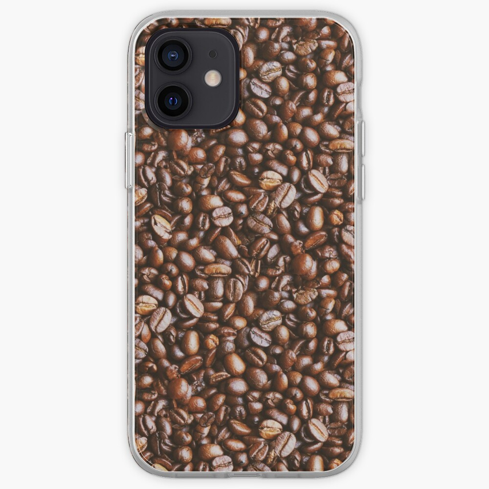 Coffee Bean Photo Pattern iPhone Case & Cover