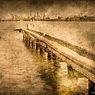 Jetty at Deep Water Point by pennyswork