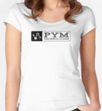 Ant-Man - Pym Technologies - Grey Clean Women's Fitted Scoop T-Shirt