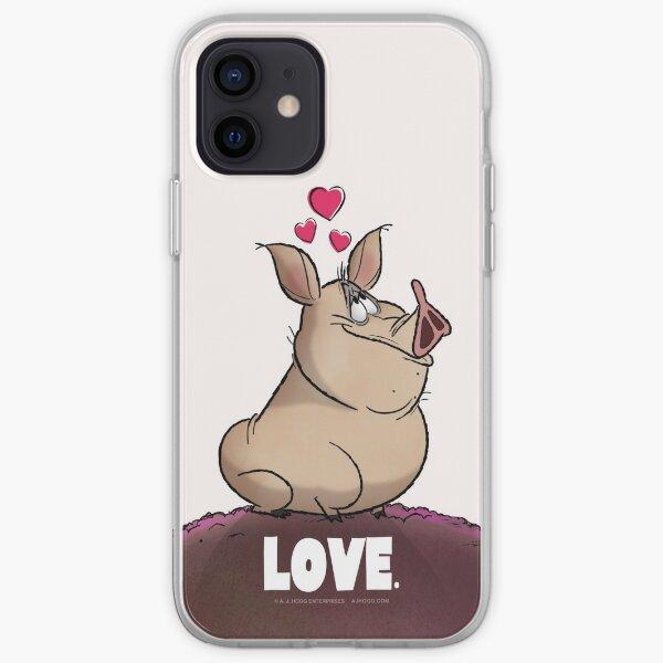 """A. J. HOGG """"LOVE."""" iPhone Soft Case"""