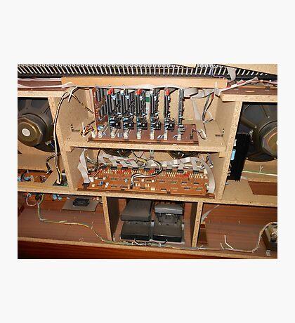 Die Eingeweide der Orgel Fotodruck