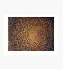 Sheikh Lotf Allah Mosque, Esfahan, Iran Art Print