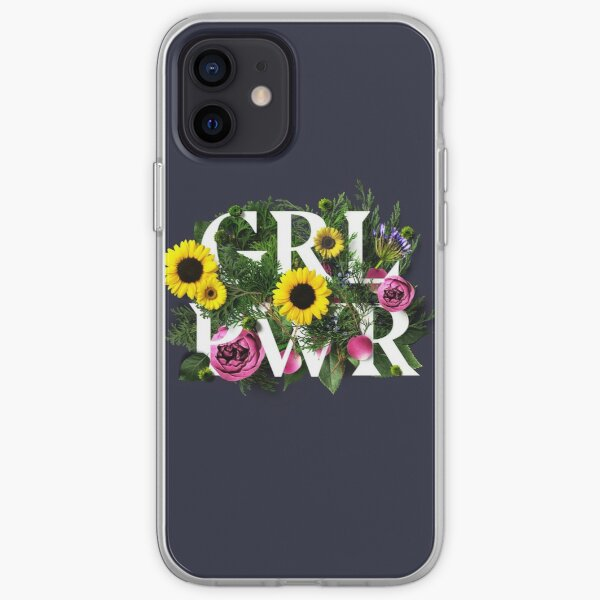 Girl Power Flowers iPhone Soft Case