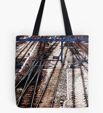 Traintracks Tote Bag