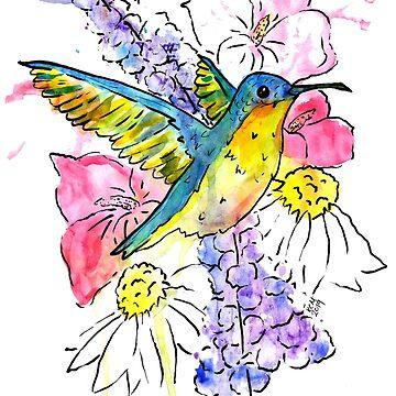 Sweet Hummingbird by missmann