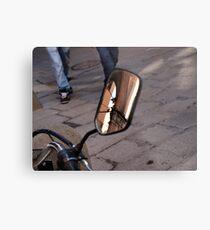 Street Reflections Metal Print