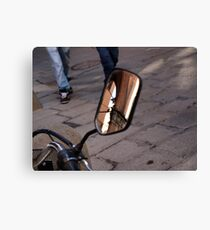 Street Reflections Canvas Print