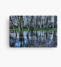 Flooded ...HDR Canvas Print