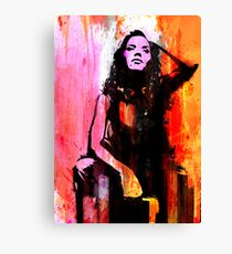 A Seminal Touch of Seduction Canvas Print