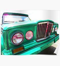 Classic Jeep J3000 4 Wheel Drive by Sharon Cummings Poster