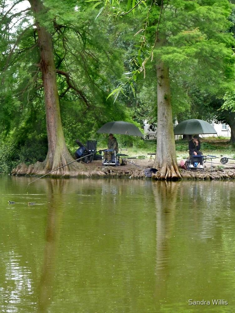 Just Fishing by Sandra Willis