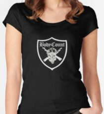 Body Count - Black Women's Fitted Scoop T-Shirt