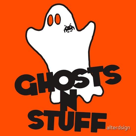 TShirtGifter presents: Ghosts N Stuff
