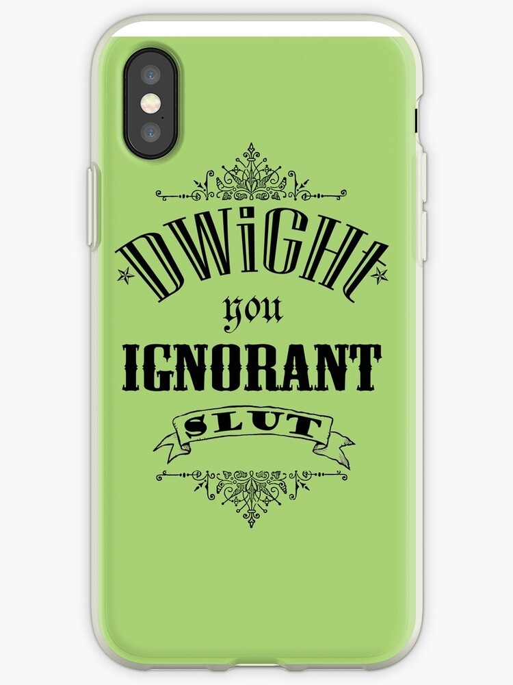 You Ignorant Slut - Green by pickledbeets