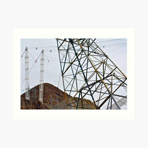 Dam Power Art Print