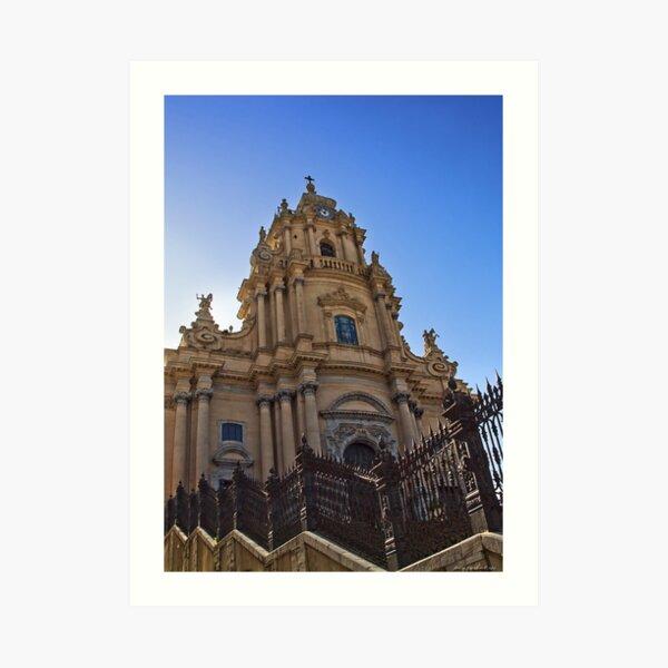 Il Duomo di San Giorgio Art Print