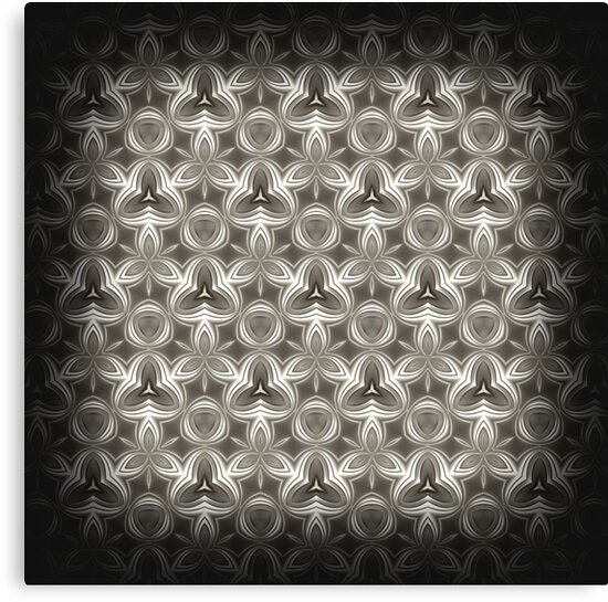 Abstract Grey Metallic Pattern by cinema4design