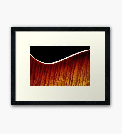 Beauty In Flames Framed Print