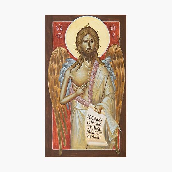St John the Forerunner Photographic Print