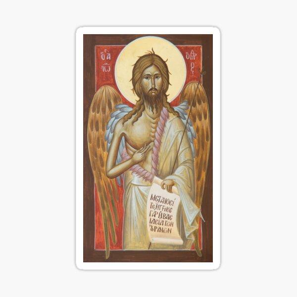 St John the Forerunner Sticker