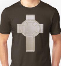 Celtic Cross, Silvery Unisex T-Shirt