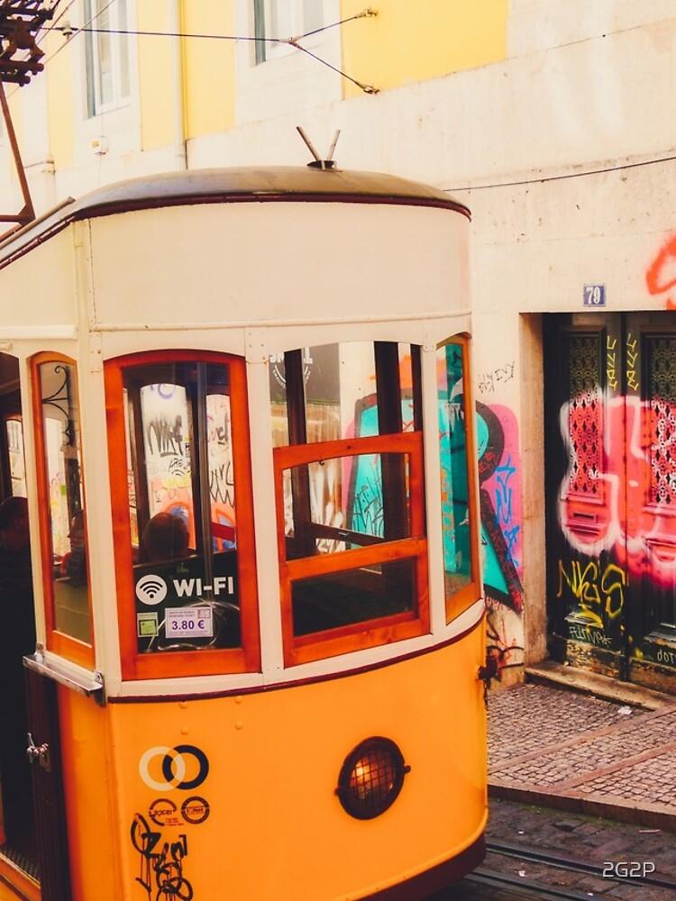 «BOM DIA LISBOA   Tramway N°1» par 2G2P