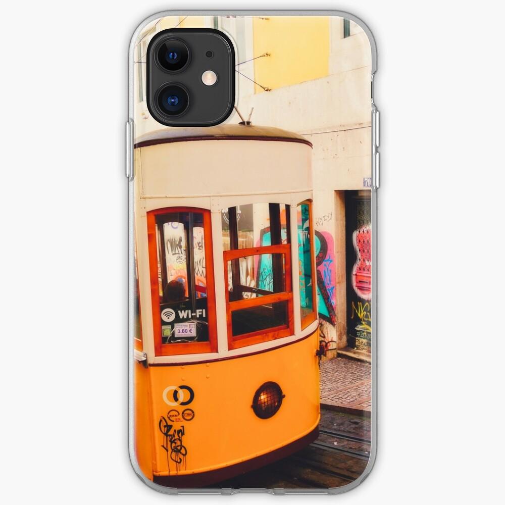 Coque iPhone «BOM DIA LISBOA   Tramway N°1»