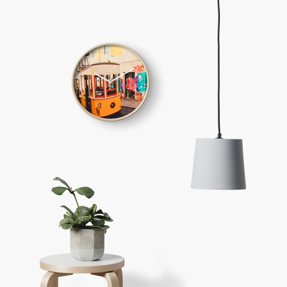 Horloge «BOM DIA LISBOA | Tramway N°1»