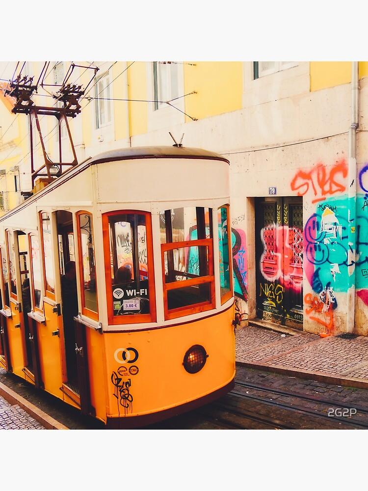 «BOM DIA LISBOA | Tramway N°1» par 2G2P