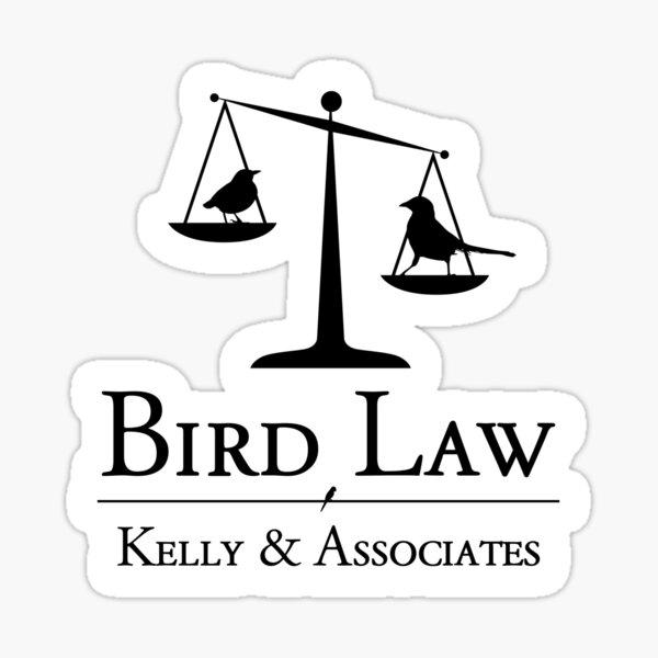 Bird Law Charlie Kelly It's Always Sunny in Philadelphia Sticker