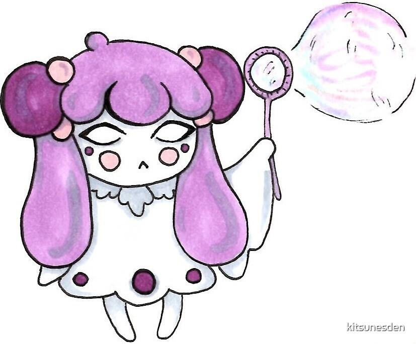 Bubble Ghostie by kitsunesden