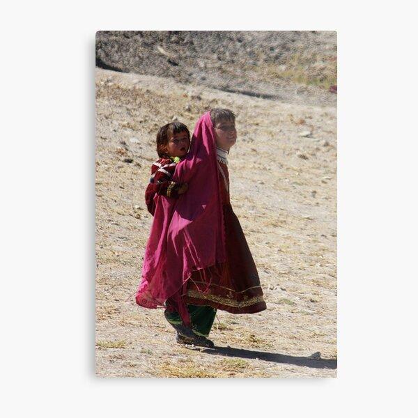 Sisters (Afghanistan) Metal Print