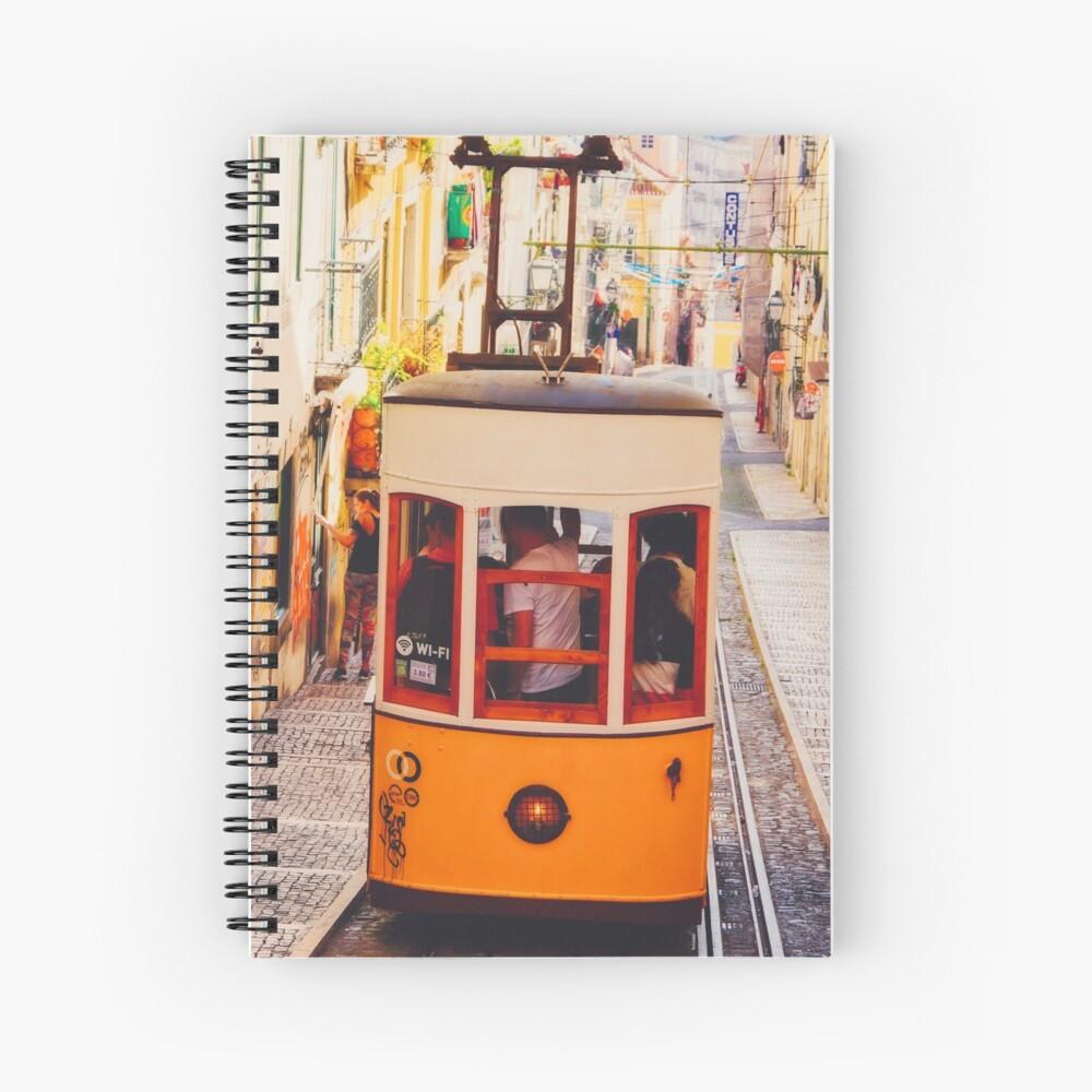 Cahier à spirale «BOM DIA LISBOA   Tramway N°2»