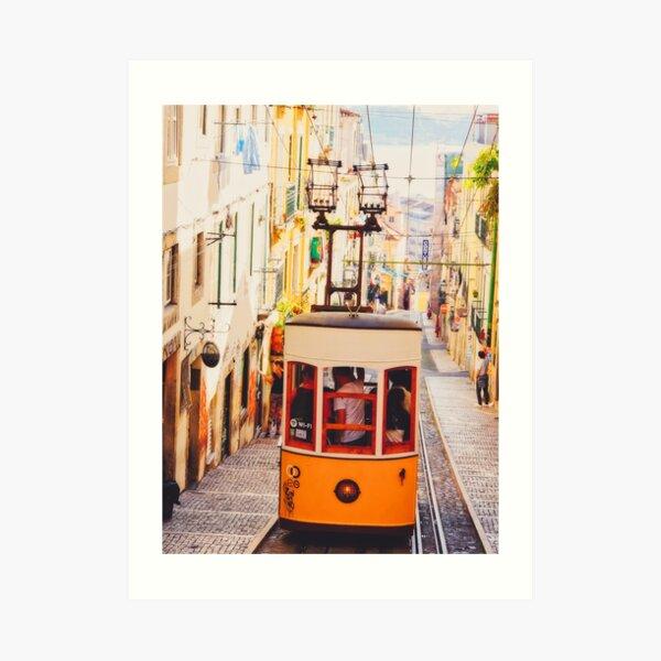 BOM DIA LISBOA | Tramway N°2 Impression artistique
