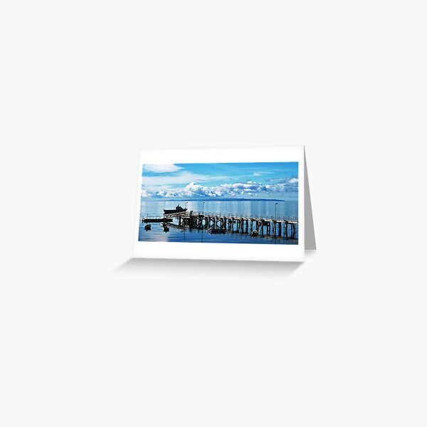 Moments in Reflection Greeting Card