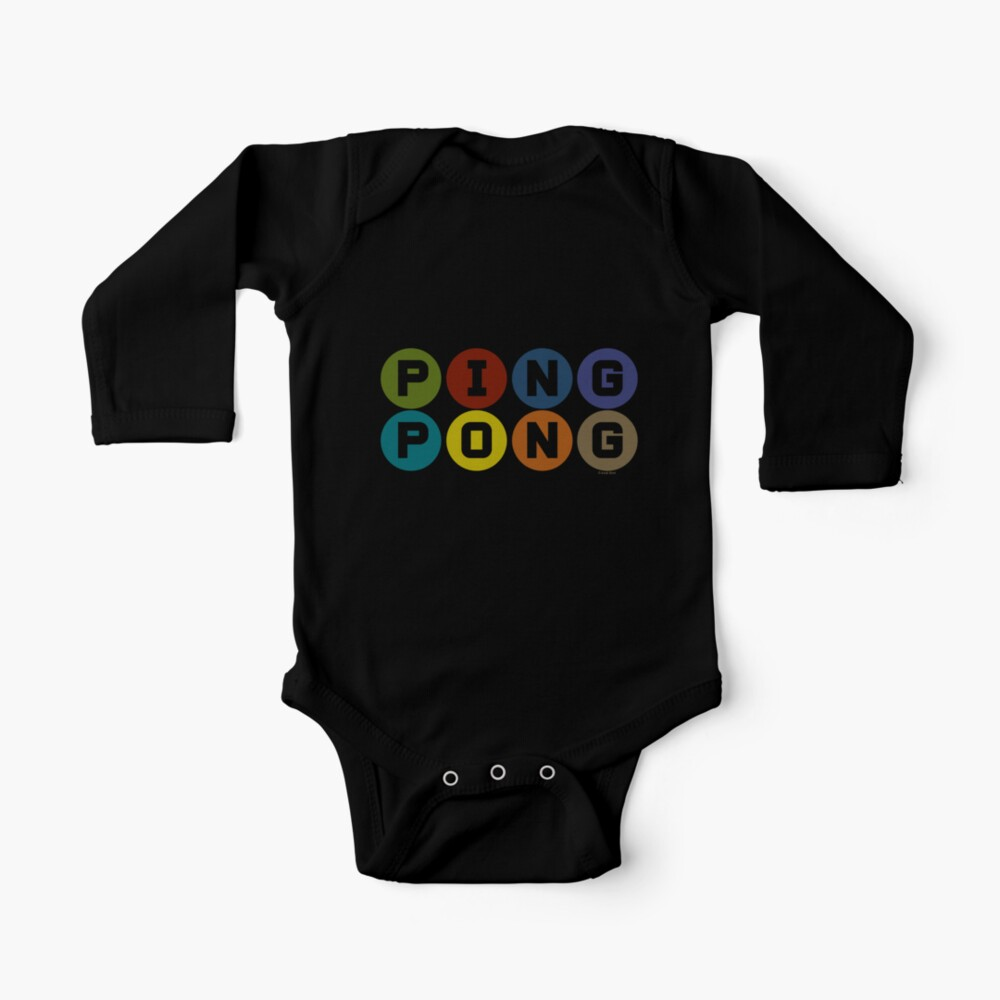 ping pong Baby One-Piece