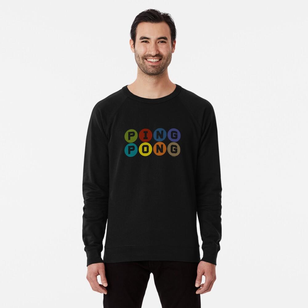 ping pong Lightweight Sweatshirt