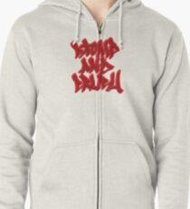 Stomp and Crush Zipped Hoodie