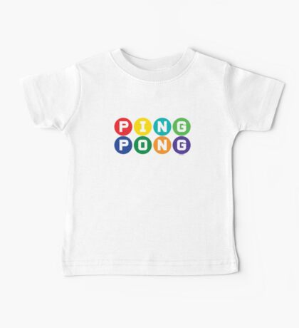 Ping Pong - primary colors Kids Clothes