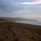 Lone Walker - Portstewart Strand by alexandriaiona