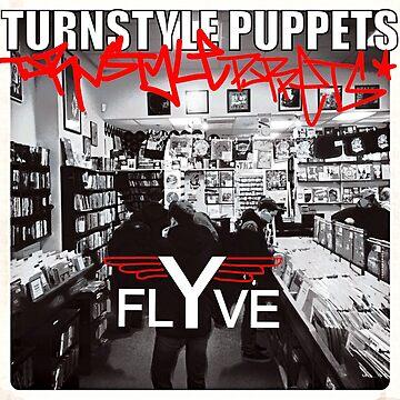 Turnstyle Marionetten - Flyve von powr13